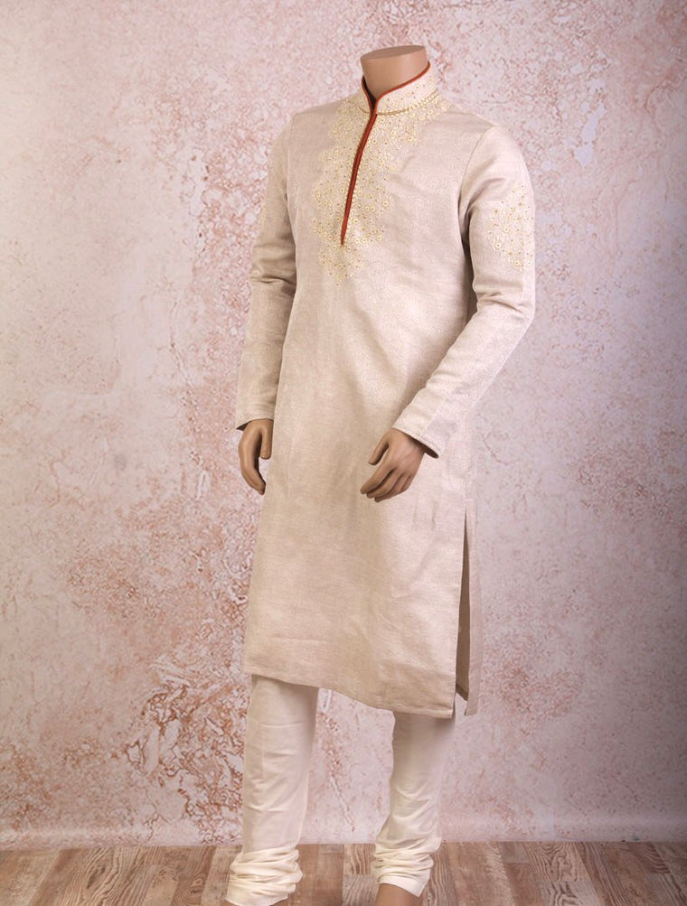 J8/CK4046B Tanchoi Kurta with Churidar