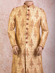 K8S/32  Jaalwork sherwani/churi - Variety Silk House Ltd