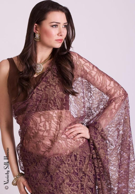 Soft chantilly lace saree variety silk house ltd soft chantilly lace saree variety silk house aloadofball Gallery