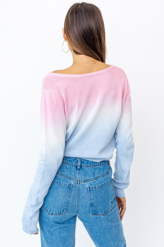 The Ombre Top