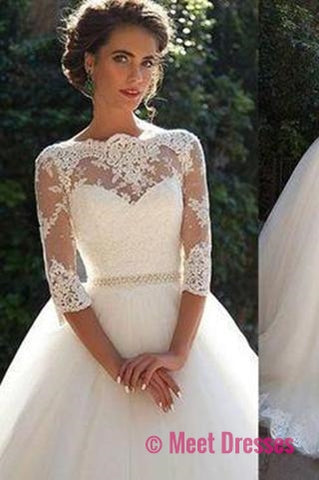 Modest wedding dress tulle country wedding dresses for brides sexy modest wedding dress tulle country wedding dresses for brides sexy lace wedding gowns junglespirit Image collections