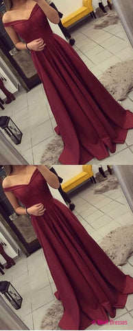 Elegant Prom Dress,Sleeveless Prom Dress,Burgundy Evening Dress,Evening Party Dress