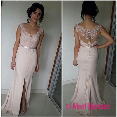 Pale Pink Evening Gowns