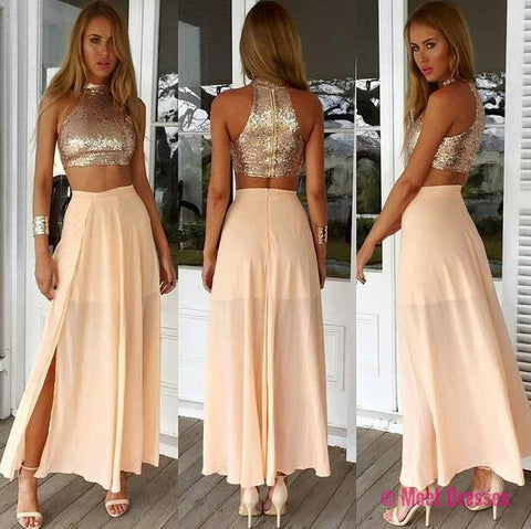 chiffon evening gowns