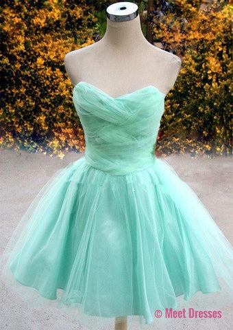 2018 Homecoming Dress,Mint Green Homecoming Dress,Mint Green Homecoming Dress,Homecoming Dress,Short Prom Dress,Country Homecoming Gowns,Sweet 16 Dress,Simple Homecoming Dress,Casual Parties Gowns PD20183789