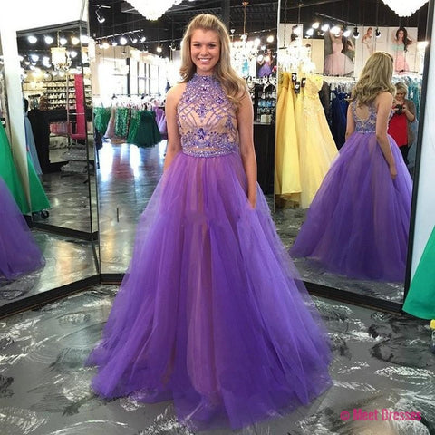 2 piece Prom Dresses,2 Piece Prom Gown,Two Piece Prom Dresses,Prom Dresses,New Style Prom Gown,2018 Prom Dress,Prom Gowns PD20182942