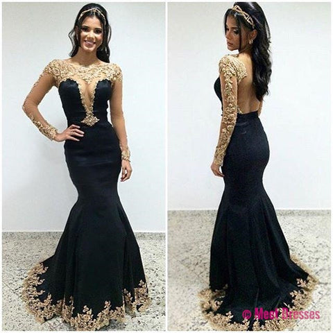 Black dress prom pictures