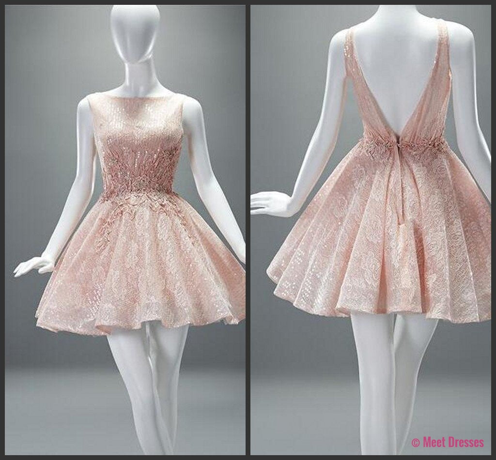 Simple Homecoming Dress,Homecoming Dresses,Modest Homecoming Dress ...