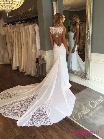 Wedding Dresses,Wedding Gown,Princess Wedding Dresses Mermaid Wedding Dress with Backless mermaid brides dress PD20181932