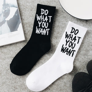 Do What You Want Socks