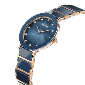 Ceramic | polished rose gold | 11435-767
