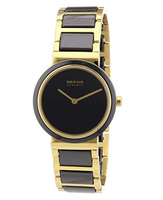 BERING Time 10729-741 Womens Ceramic Collection Watch with Stainless Steel Band and Scratch Resistant Sapphire Crystal. Designed in Denmark