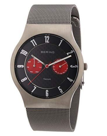 Bering Titanium Chronograph Watch 11939-079