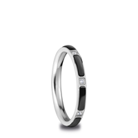 Ceramic Inner Ring | polished silver | 503-16-X2