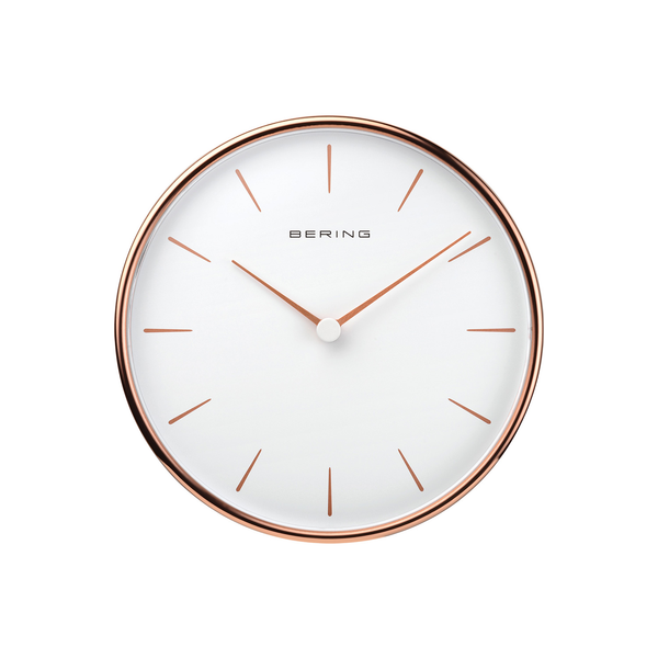Wallclock | polished rose gold | 90162-64R