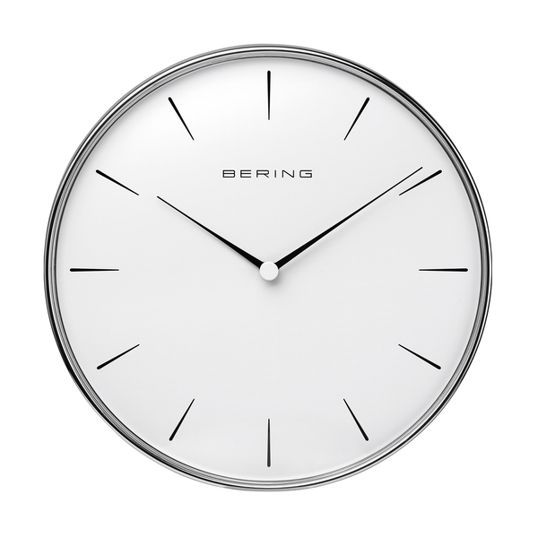 Wallclock | polished silver | 90292-04R