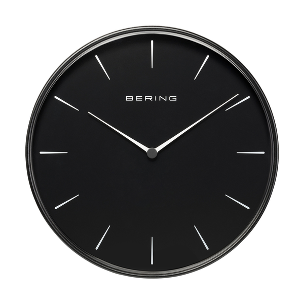 Sale | brushed black | 90292-22R  Wallclock