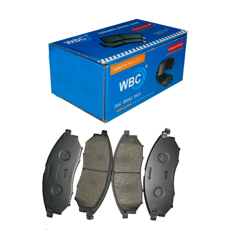 Brake Pad, WBC, AY040-NS058, D1231 (000420) - Win Store