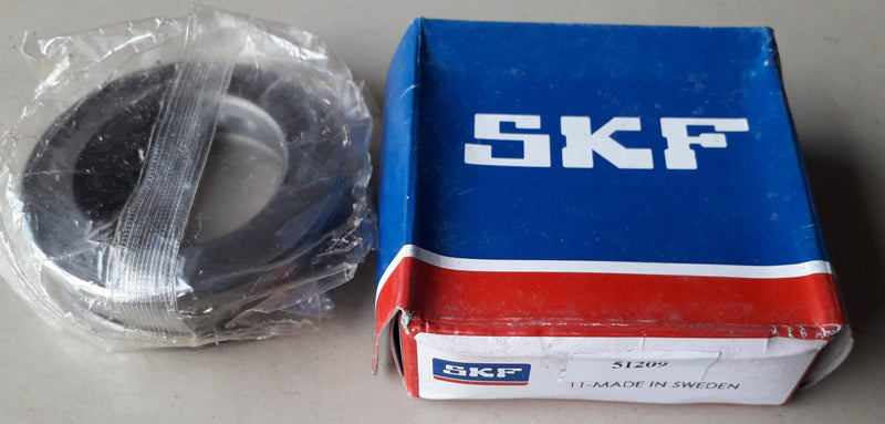 Thrust Ball Bearing, SKF, 51209, (029240)