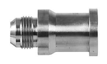 "1700-08-12 - 1/2"" JIC (3/4""-16 thread) x 3/4"" Code 61 Flange  hydraulic fittings (081972)"