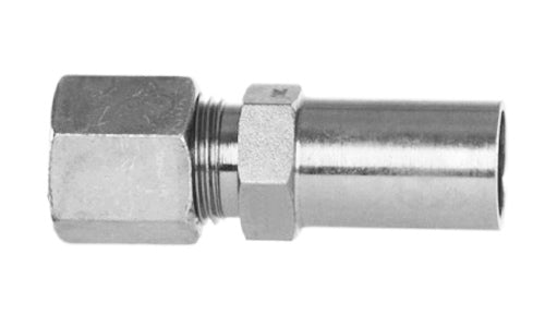 "47015-08-06 - 1/2"" Stand Tube x 3/8"" Flareless Tube Compression Fittings (081664)"