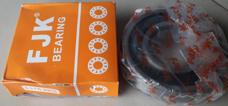 Deep Groove Ball Bearing, FJK, 6310 2RS ,(028715)
