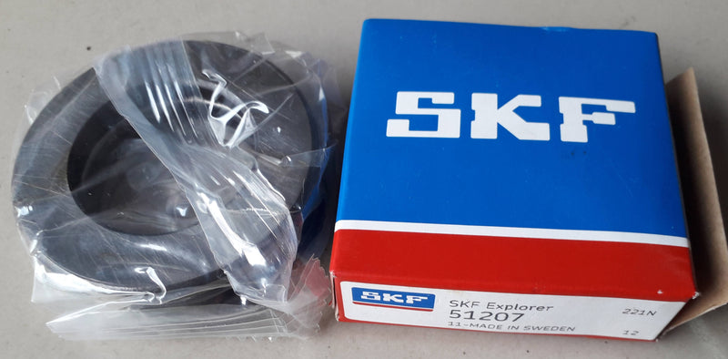 Thrust Ball Bearing, SKF, 51207,(029238)