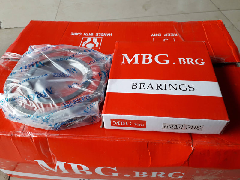 Deep Groove Ball Bearing, MBG, 6214 2RS , (028709)