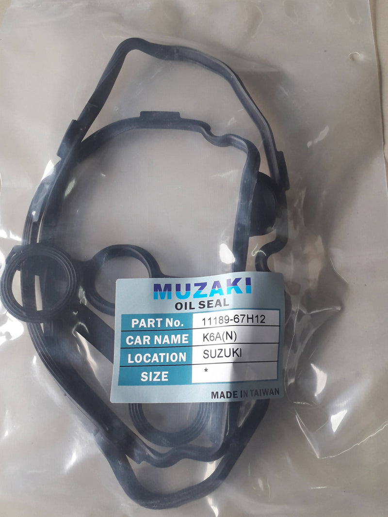 CYLINDER HEAD COVER,OIL SEAL, MUZAKI,09289-05012, SUZUKI, K6A/ES200,(035956)