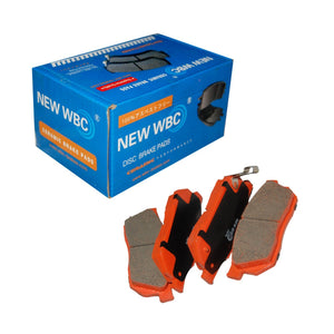 Brake Pad, WBC-2, MC869773, D6062 (007617) - Win Store