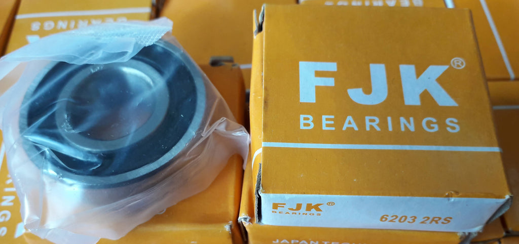 Deep Groove Ball Bearing, FJK, 6203 2RS, (028699)