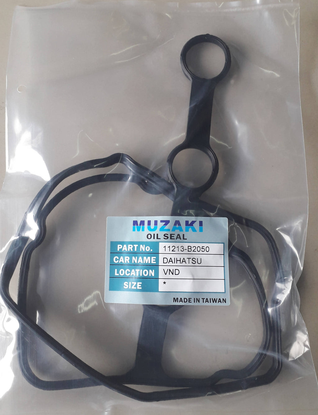 CYLINDER HEAD COVER,OIL SEAL, MUZAKI, 11213-B2050, DAIHATSU, VND, KF,(035955)
