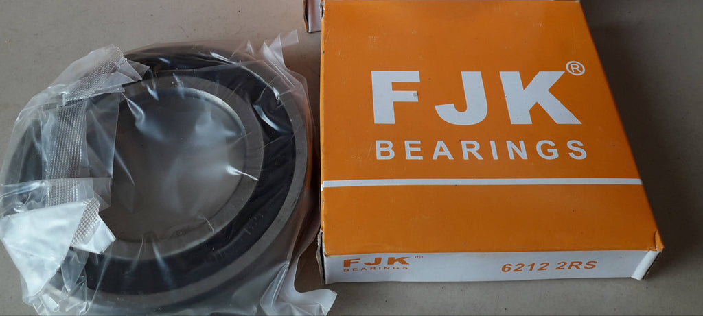 Deep Groove Ball Bearing, FJK, 6212 2RS , (028708)