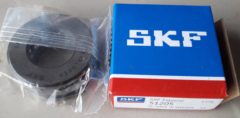 Thrust Ball Bearing, SKF, 51205 , (029236)