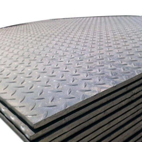 MS Chequered Steel Plate/Floor Plate ,Width 1219x2438x Thickness 2.5x 0 (58.3 KG/PCS) WISCO (013973)