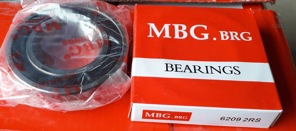 Deep Groove Ball Bearing, MBG, 6209 2RS , (028705)