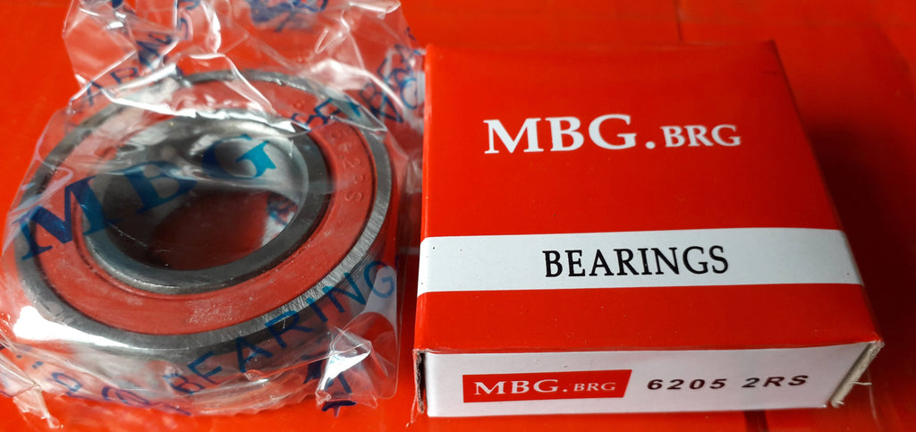 Deep Groove Ball Bearing, MBG, 6205 2RS , (028701)