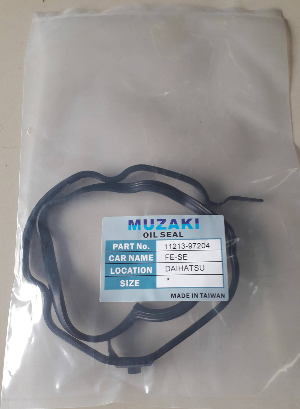 CYLINDER HEAD COVER, OIL SEAL,MUZAKI, 11213-97204, DAIHATSU, FE-SE,(035957)