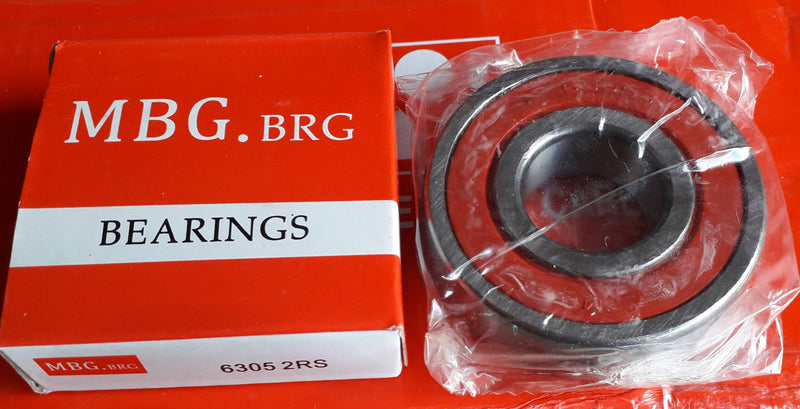 Deep Groove Ball Bearing, MBG, 6305 2RS , (028710)