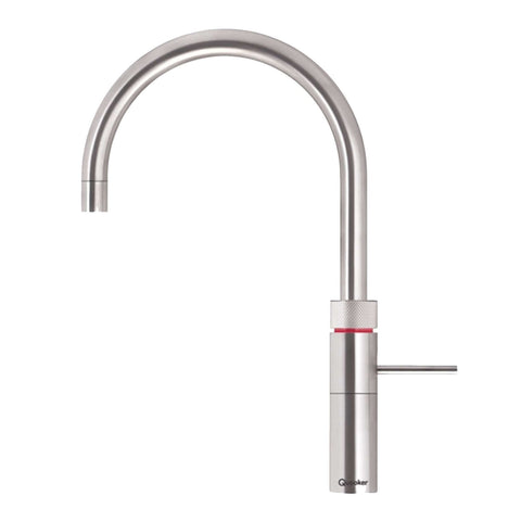 Quooker 3FRRVS PRO3 Fusion Round 3-in-1 Boiling Water Tap in Stainless Steel