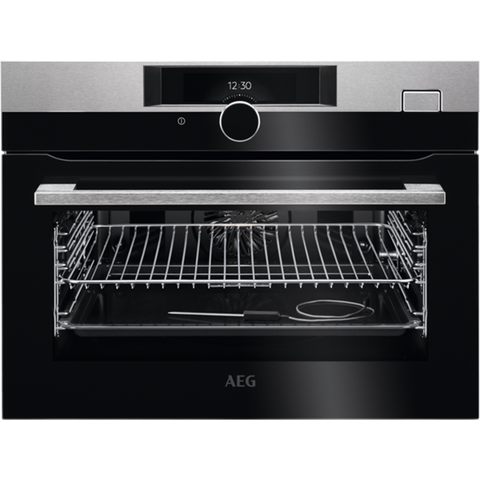 AEG KSK882220M Built In Compact Steam Oven - Stainless Steel - A+ Rated ** Limited Stock ** **SAVE A FURTHER £100 THIS WEEKEND ONLY WITH CODE SOB100**