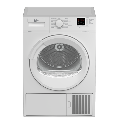Beko DTLP81141W 8kg Heat Pump Tumble Dryer - White - A+ Energy Rated Euronics