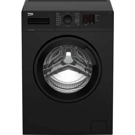 Beko WTK72041B 7kg 1200 Spin Washing Machine - Black - Euronics * * 2 ONLY LEFT AT THIS PRICE * *