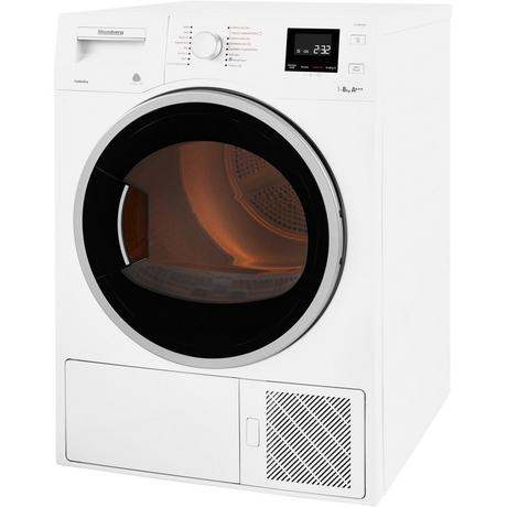 Blomberg LTH3842W 8kg Heat Pump Tumble Dryer - A+++ Rated Euronics