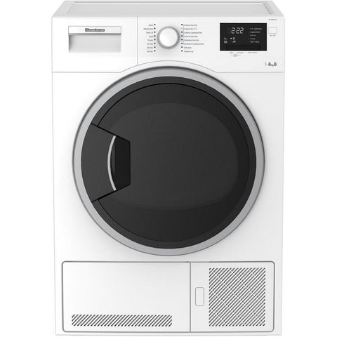 Blomberg LTK28021W 8kg Condenser Tumble Dryer - White - B Rated Euronics