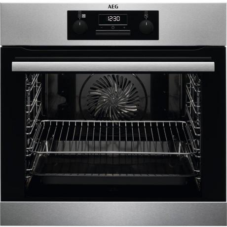 AEG BES25101LM Built In Electric Steam Bake Single Oven - Stainless Steel - A Energy Rated Euronics