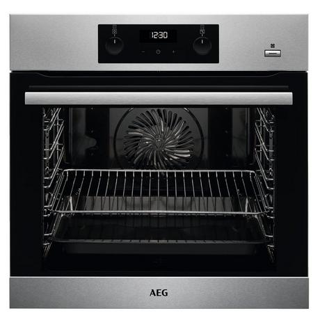 AEG BES255011M Built In Electric Single Oven - Stainless Steel - A Energy Rated - Euronics