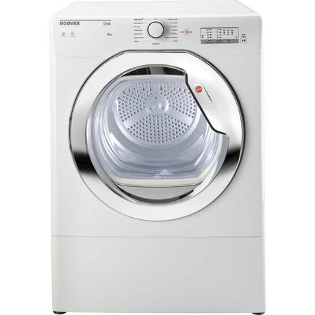 Hoover HLV8LCG 8kg Vented Tumble Dryer - White - C Rated Euronics