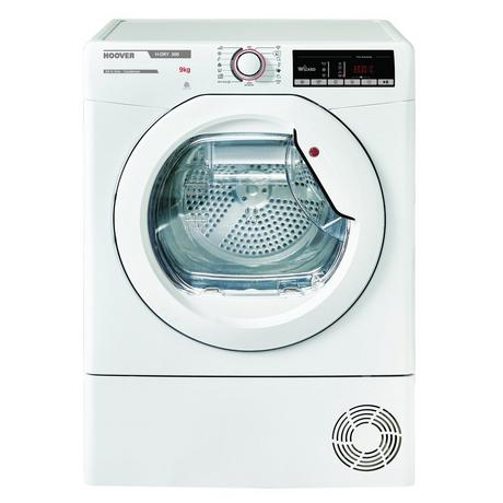 Hoover HLXC9TE 9kg Condenser Tumble Dryer - White - B Energy Rated Euronics