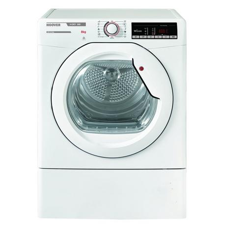Hoover HLXV9TG 9kg Vented Tumble Dryer - White - C Energy Rated Euronics